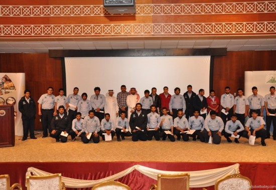 Jubail Industrial College Welcomes the Trainees of the Saudi Aramco Batch 16 Lab Tech Training Program