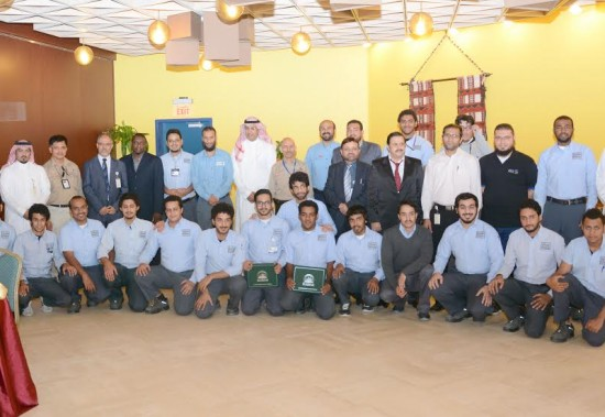 JUBAIL INDUSTRIAL COLLEGE EDUCATES 20 TRAINEES FROM SADARA