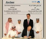 """TAQA"" and ""Archer"" sign joint venture agreement to establish specialized Oil and Gas services Company"